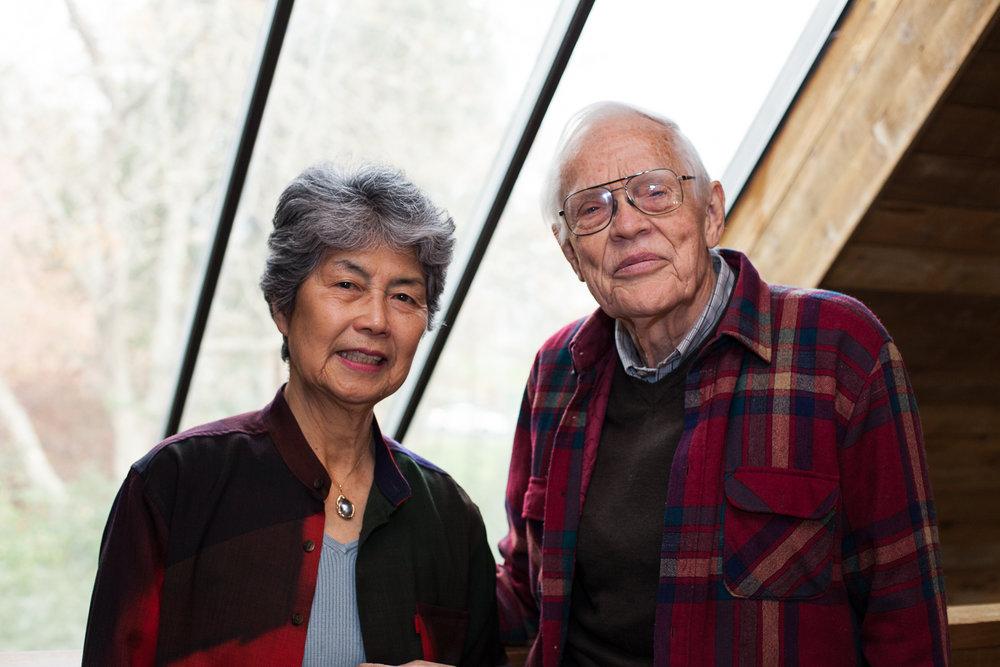 Tamako and Maurice Copithorne