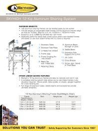 Aluminum Shoring System