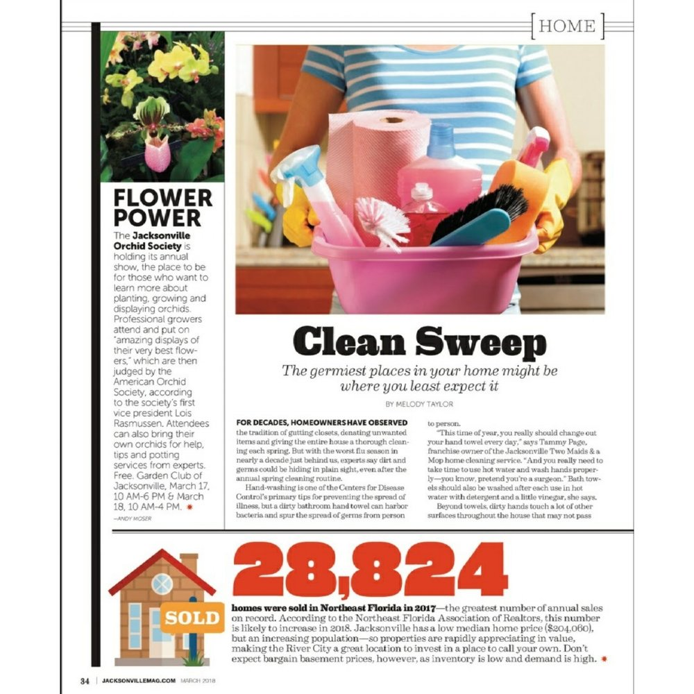 Clean Sweep Article page 1 of 2