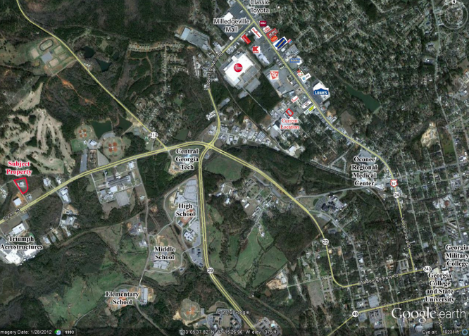 110 Industrial Park Drive, Milledgeville GA
