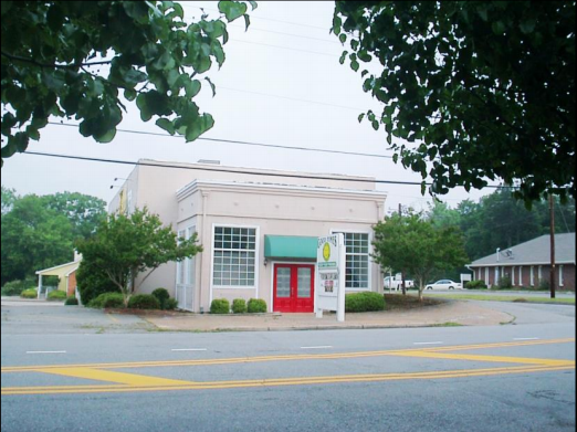 Restaurant and office space for sale in milledgeville ga