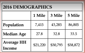 2016 Macon Demographics