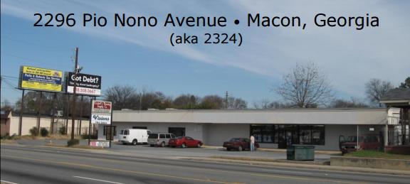 2296 Pio Nono Avenue, Macon, Georgia