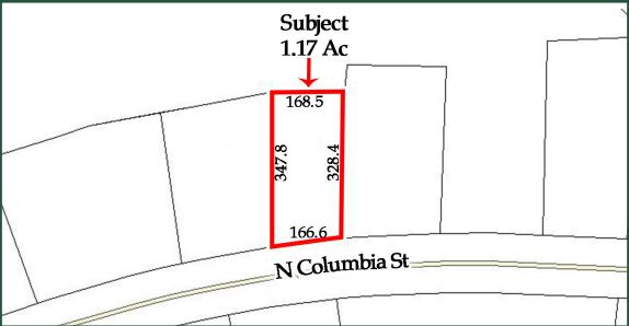 2721 N Columbia Street, Hwy 441, Milledgeville, GA  31069