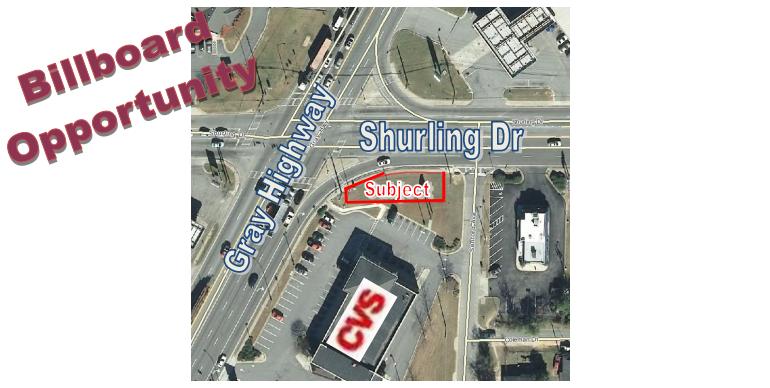 SE Corner of Gray Hwy & Shurling Dr | GeorgiaCommercialRealEstate.net