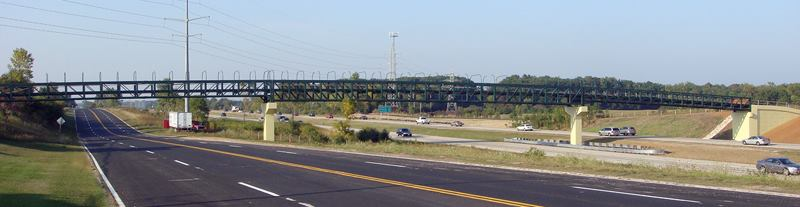 Conceive it, believe it, achieve it: the bike bridge over I-43 is still one of Chris' favorite achievements.