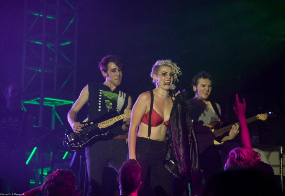 American Idiot  performance shot with St. Jimmy (Caitlin Ary)