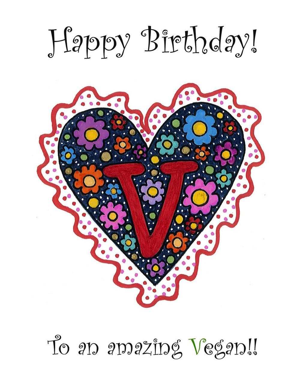Heart 6 Card Vegan Childrens Books