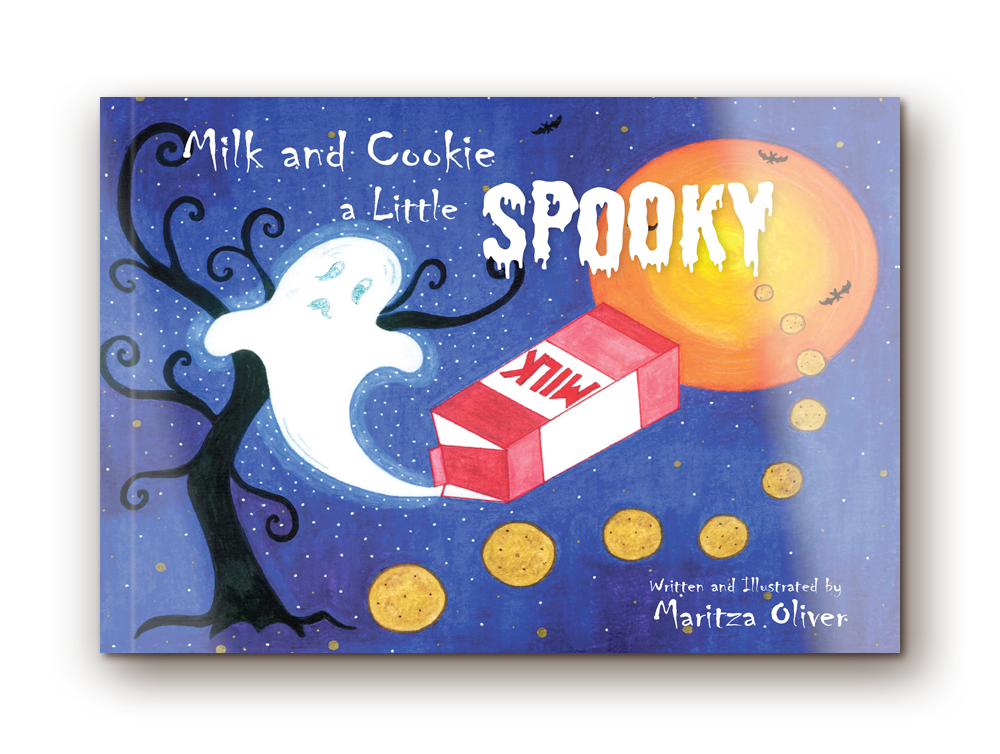 Milk and Cookie a Little Spooky  -  Raising             awareness of dairy consumption for the next                                     generation