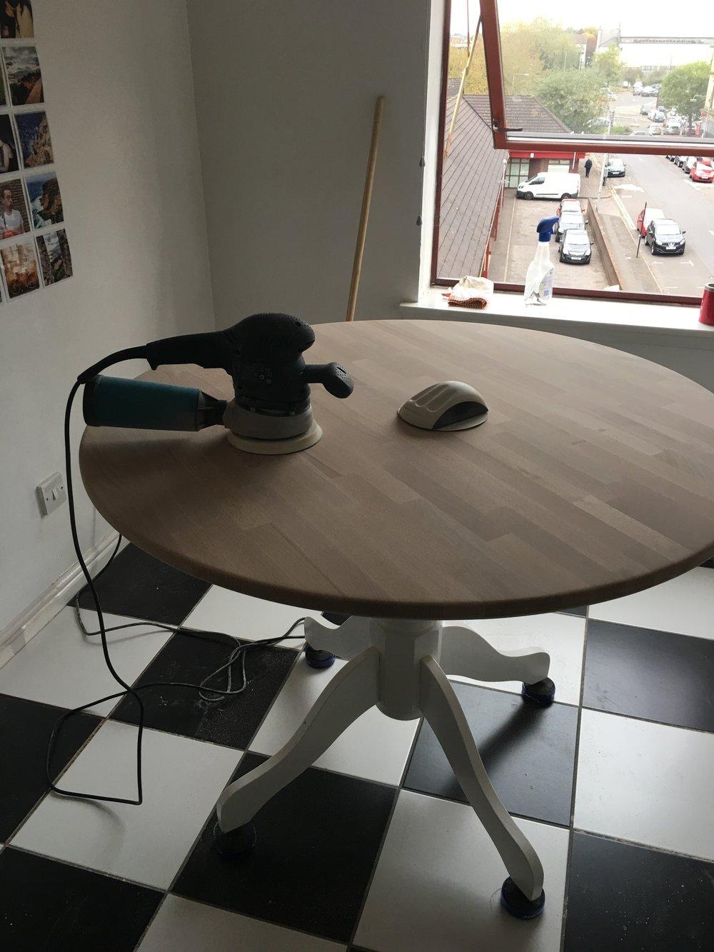 My favourite job of sanding. :(