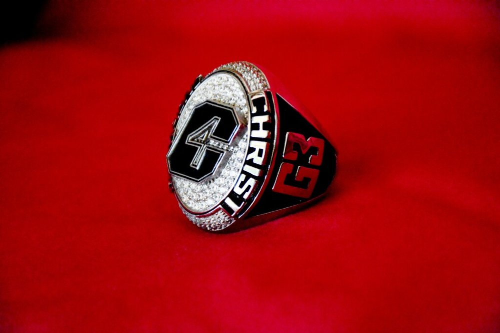 "- On one side of the ring is the symbol G3. When I was younger, Brother Hagin said to me, ""Chipper, if you keep your motive right, everything in your life and ministry will be just fine."" I asked him, ""what's the motive?"" He said, ""In everything you do or say, give God glory!"" That's it - the three G's - Give God Glory."