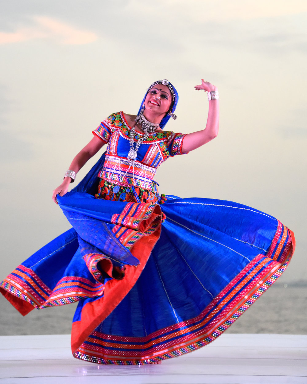 DESERT FIRE PROJECT RAJASTHANI FOLK DANCE 'KALBELIA' WITH MALINI TANEJA