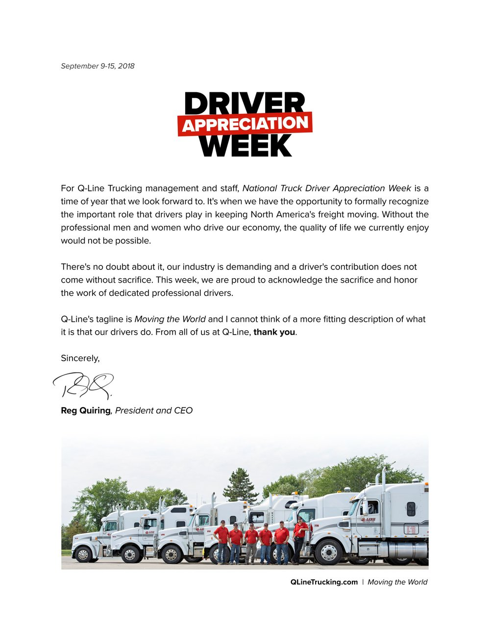 National Trucking Week - Message from Reg.jpg