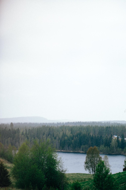 Svindlande vackert är det redan strax utanför Umeå.