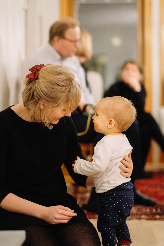 Sista veckan av året firades i Finland med släkt och vänner. Lagom till nyår var vi hemma igen.