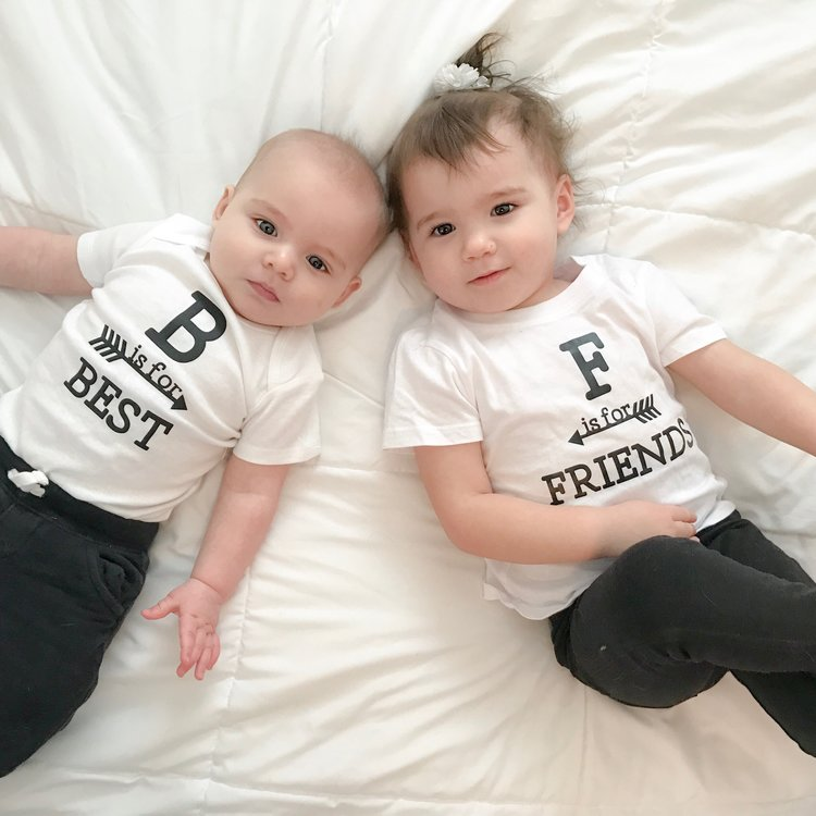 b19df553f B is for Best, F is for Friends, Best Friends Shirts — Me and Baby ...