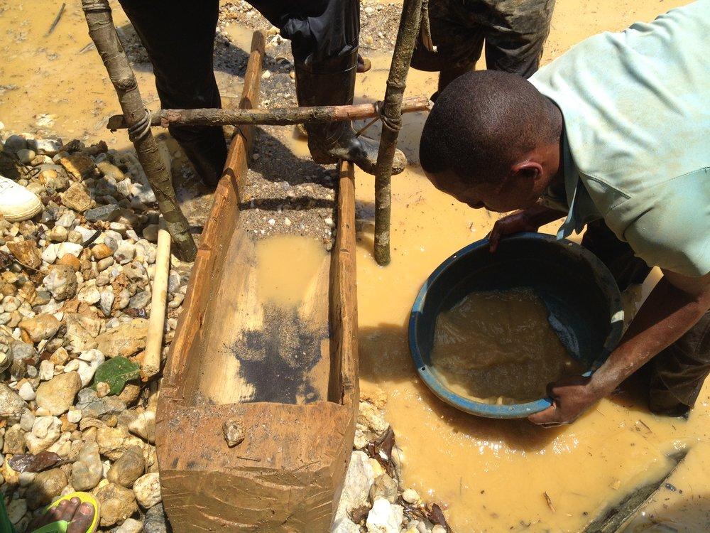 MINE SITE, DRC