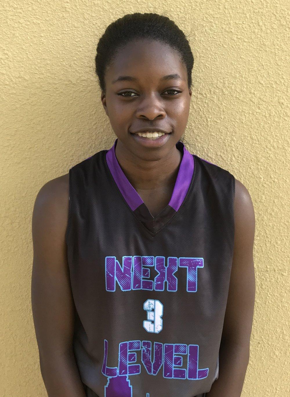 Morgan Strawder #3    School: Hightower High School    Grade: 9th    Height: 5'3    Weight: 100    Position; Guard    Top 5 Colleges: UH, LSU, UCONN, UCLA, Louisiana Tech