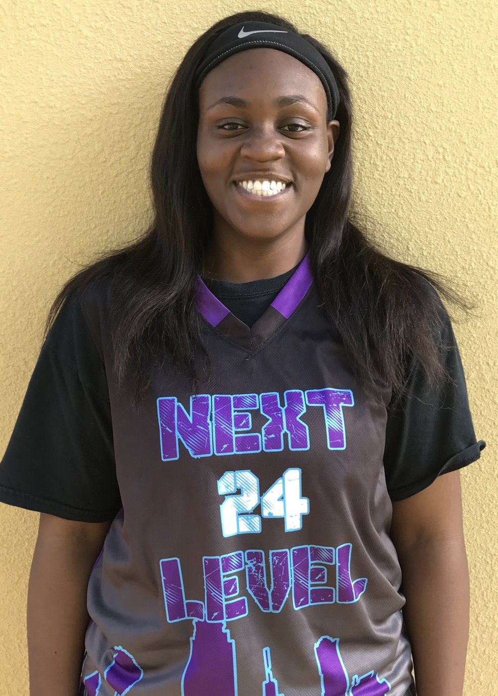 Katyelynn Hughes #24    School:Hightower High School    Grade: 9th    Height: 5'5    Weight:190    Position: Post    Top 5 Colleges: UT, TCU, HBU, Texas State, Baylor