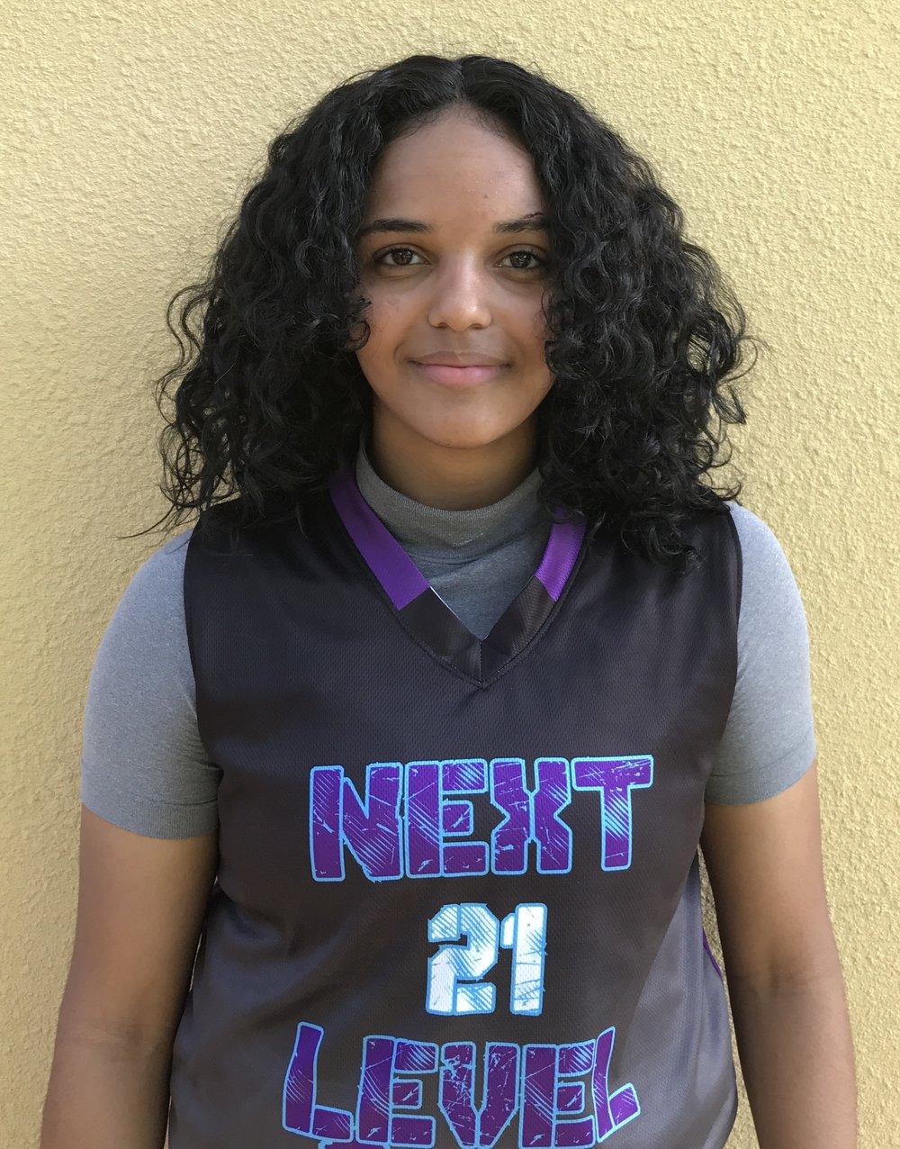 Yasmine Arogunjo #21    School: Westside High school    Grade: 11th    Height: 5'10    Weight: 157    Position: Post     Top 5 Colleges: