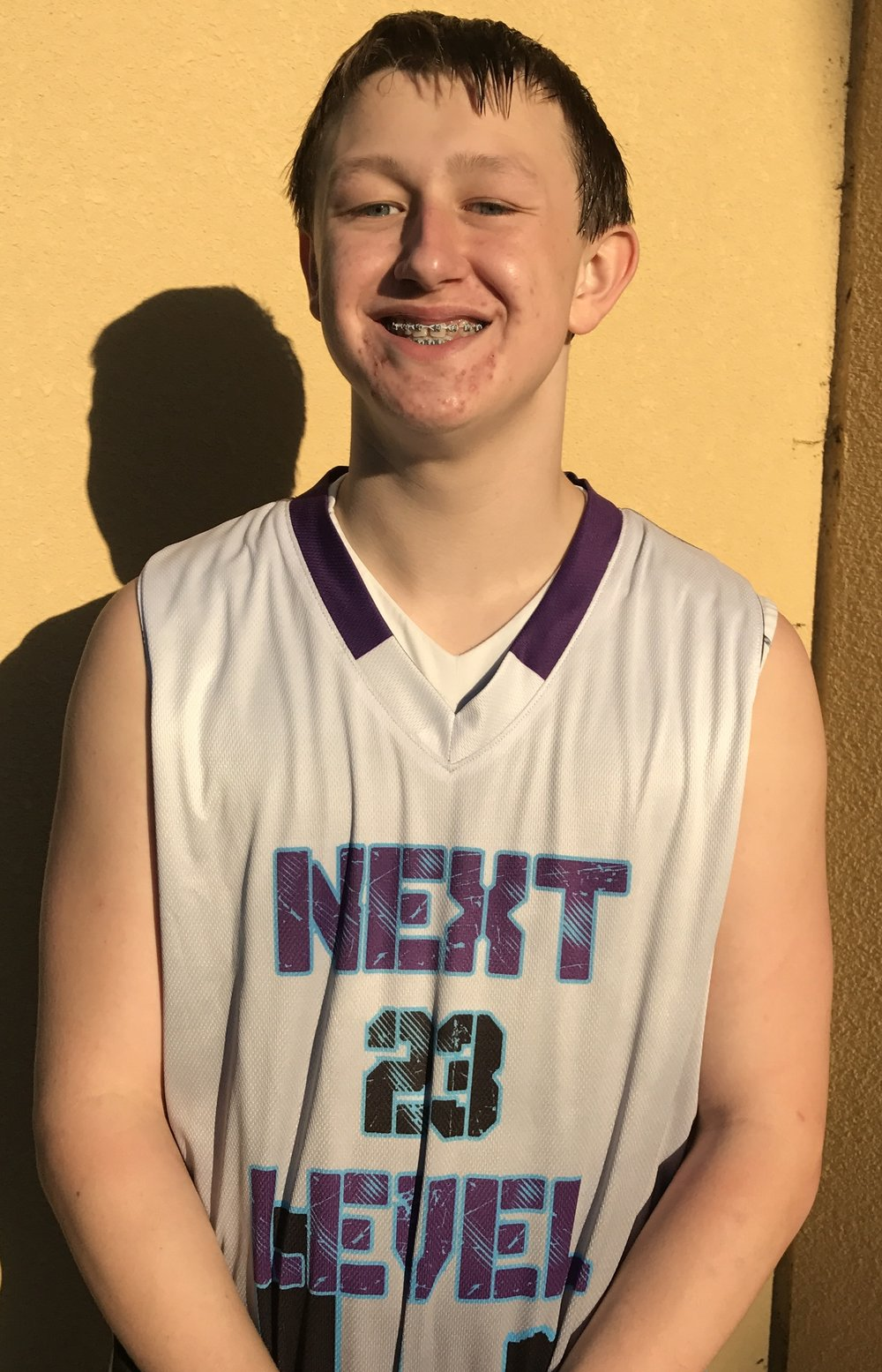 Alex Hankinson #23    School: Ridge Point High School    Grade: 10th     Height:5'11    Weight: 170    Position: Guard    Top 5 Colleges: Southern Illinos, Illinos, Michigan, Michigan St. UT