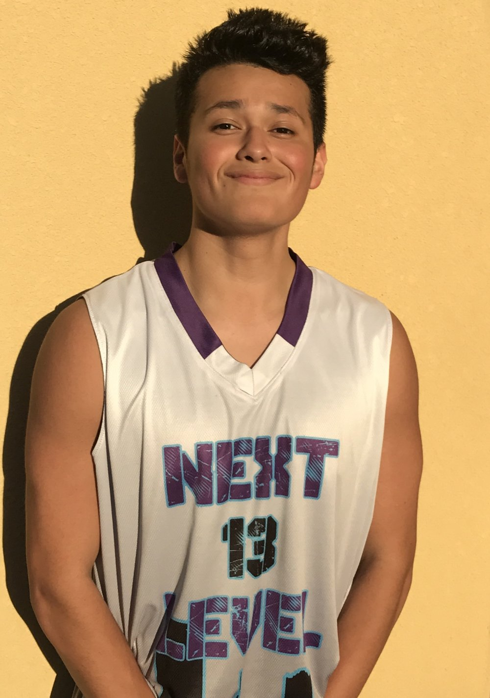 Javier Portos #13    School: Ridge Point High School    Grade: 10th    Height: 5' 8    Weight: 176    Position: Guard    Top 5 Colleges: TTU, Trinity University, SFA, UT, Texas A&M