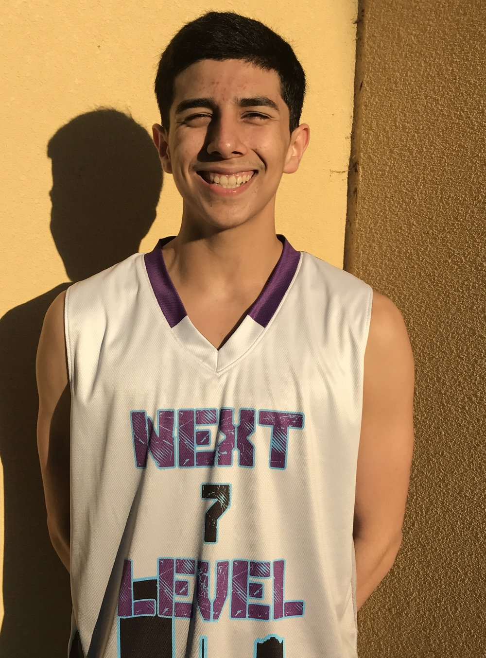 Vincent Lopez #7    School: South Houston High School    Grade: 10th     Position; Guard