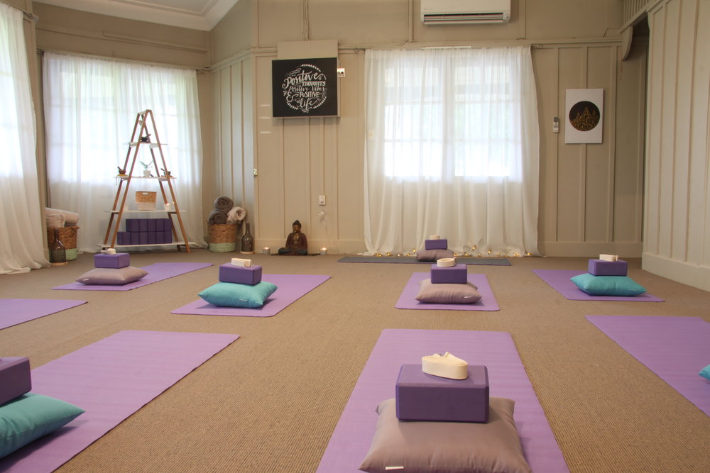 Boutique Style Yoga classes are all held at the beautiful and peaceful Your Studio Invercargill cottage.   Bookings are required for each class to keep the class sizes are small.