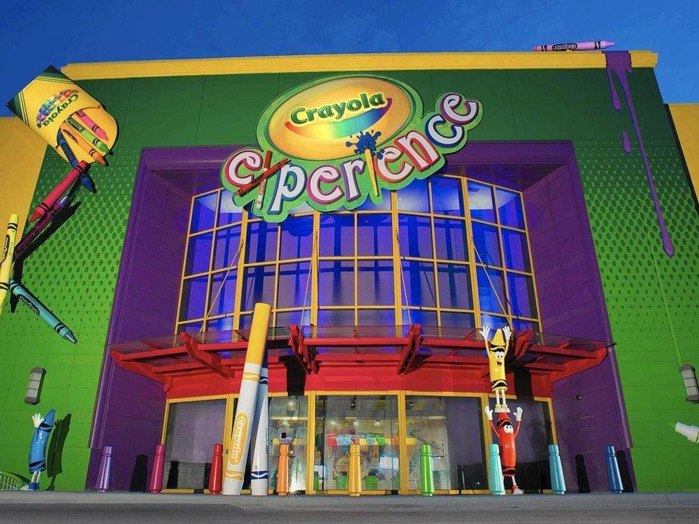 Crayola Experience no The Florida Mall Orlando