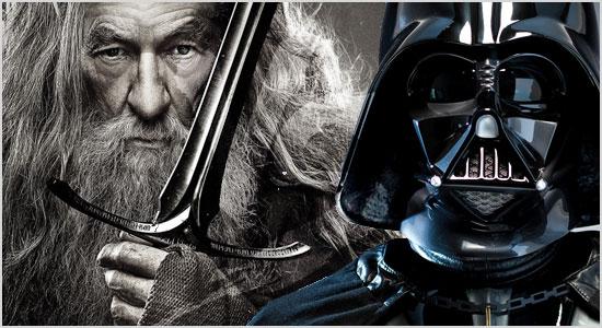 8. Um nerd venera Senhor dos Anéis e/ou Star Wars