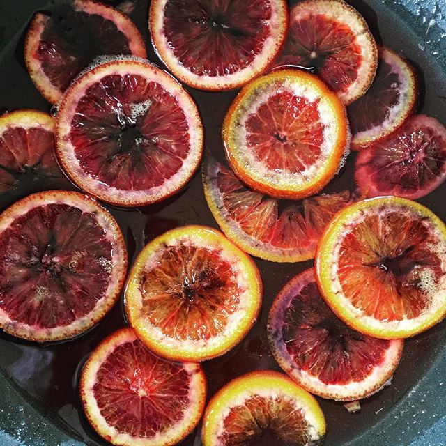 blood orange sunday vibes ✨🍊 these sugared beauties are gonna end up on a yummy citrus olive oil pound cake.. or dipped in chocolate and snacked on. #bloodorange possibilities are endless! . . . . . . . . . #maedkc #microbakery #instagood #instayum #f52grams #foodie #bloodorange #pastrylife #bonappetit #feastgram #feastmag #buzzfeedfood #thefeedfeed #thebakefeed #foodporn #sugaredfruit #sweets #eats #instakc #kcmo #kansascity #localkc #madeinkc #foodiekc #kceats @f52grams @bonappetitmag @thefeedfeed