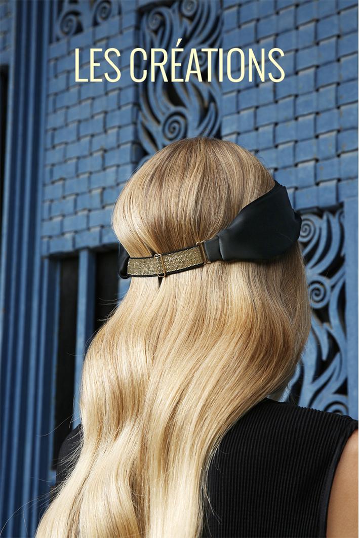 bandeau-headband-noir-ajustable-dore