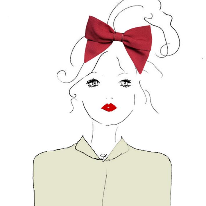 barrette-noeud-accessoire-cheveux-rouge