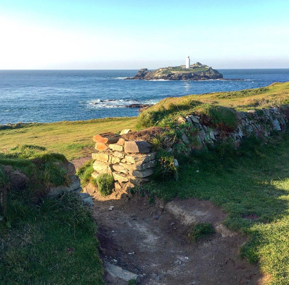 Walk around the headland towards to Lighthouse