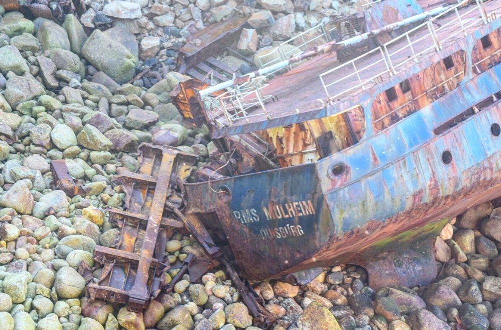 Shipwreck Cornwall