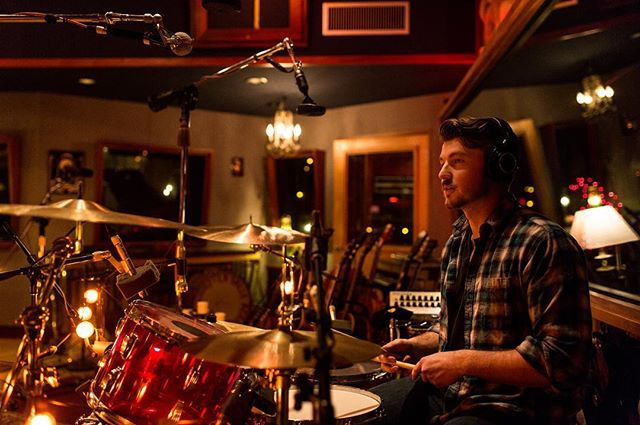 Abishai doing what he does best during the recording of the upcoming EP. Photo: @shaynecgarcia