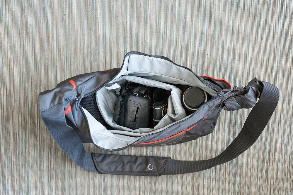 A review of the Lowepro Passport Sling III from amazon. | Denver Family Photographer