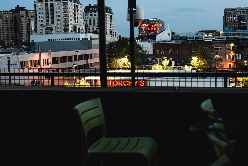 As the night went on, the abiance of the rooftop grew at Denver's The Metlo. Photo by Kristiina Craven Photography