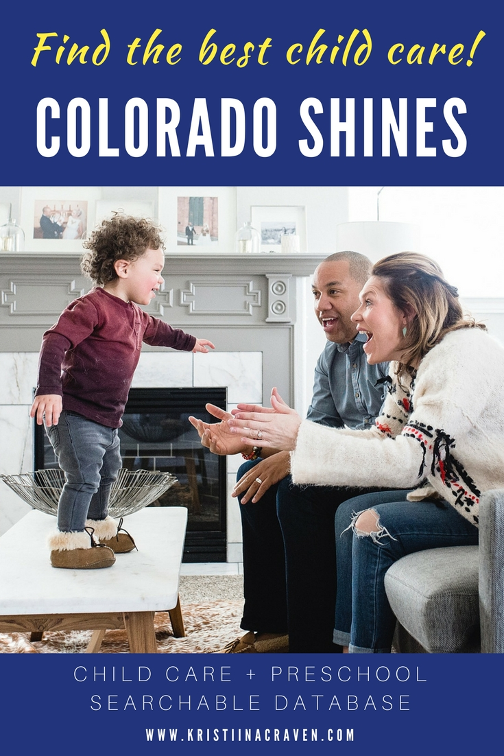 Colorado created a searchable database of child care and preschool programs for parents!
