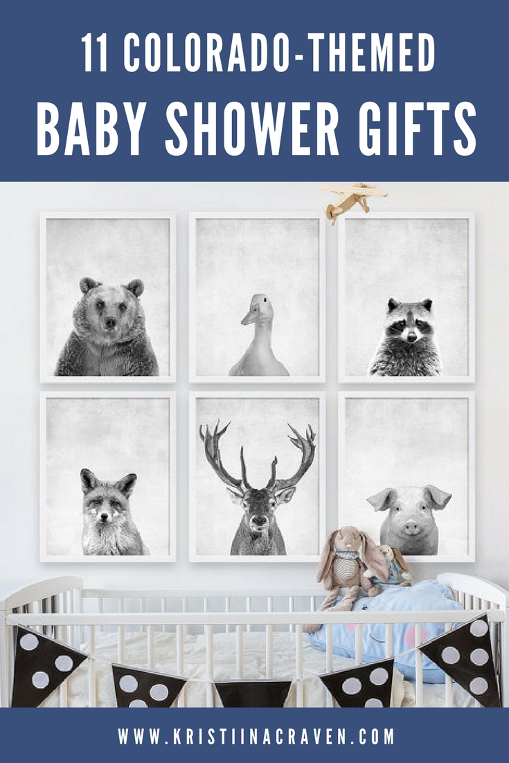 Coco and James Woodland Nursery prints on Etsy from the post 11 Colorado-Themed Baby Gift Ideas from Kristiina Craven Photography.
