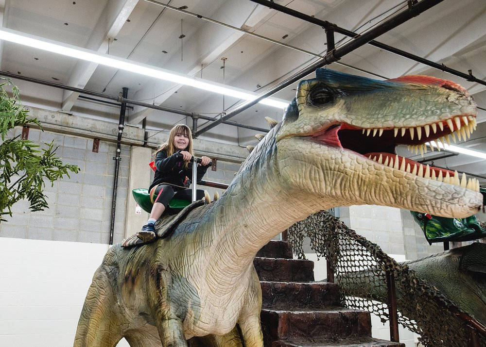 The kids are getting a little too old for this kind of thing, but it was still very impressive: Jurassic Quest came to Denver last week!  | GettingUnschooled.com | Week in the Life of an Unschooler