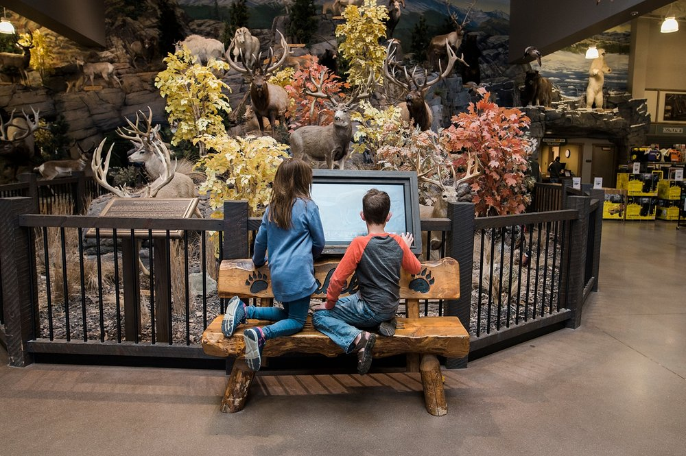 Cabela's never disappoints!  Week in the Life of an Unschooler is on the blog! | GettingUnschooled.com | #unschooling #homeschool #cabelas