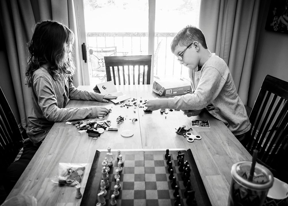 Unschooling our kids provides for lots of 'white space' where they can follow what they feel like doing which opens the door for so much creative play. | Getting Unschooled is an unschooling blog written by Kristiina Craven about her family in Denver, Colorado.