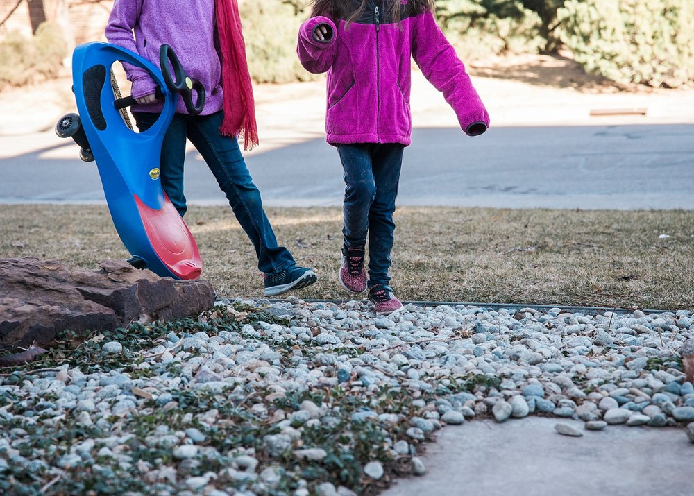 Our neighbor's daughter has become part of the family and comes over at least twice a week to play with the kids.  More of our Week in the Life of an Unschooler is up on the blog! | Getting Unschooled is a family lifestyle blog about unschooling, over-40 style, and non-toxic beauty.  Thanks for pinning!