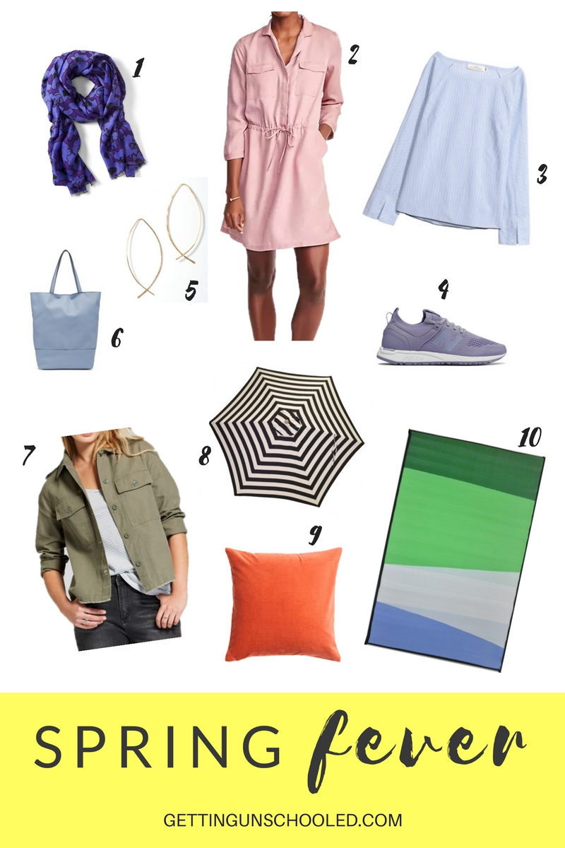 So fun!  Casual over-40 outfit inspiration and a few springy house decor ideas from Getting Unschooled--a blog about unschooling, 0ver-40 style, and non-toxic beauty!  Thanks for pinning :)
