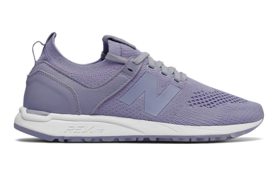 GAH!  These pastel purple New Balance Sneakers are so cute--perfect with white jeans or a flower print dress.  My 40-year-old back screams for sneaker, so I love it when I find shoes that are comfy and chic.  Getting Unschooled is a blog about unschooling, over-40 fashion, and non-toxic beauty.  Thanks for pinning :)