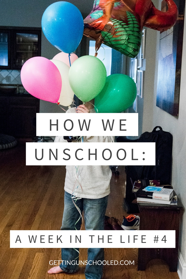 So fun!  See how this unschooling family spends their week.  Ever wonder what a typical day looks like for an unschooler?   This is even better--you get to see the whole week!  | Getting Unschooled is a family lifestyle blog about unschooling, over 40 style and non-toxic beauty.  Thanks for pinning!!!