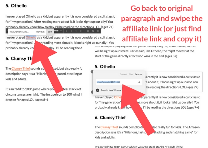 How to add nofollow affiliate links in your Squarespace website.  Instead of using the code block, you use the markdown block!  Follow this easy tutorial from GettingUnschooled.com :)