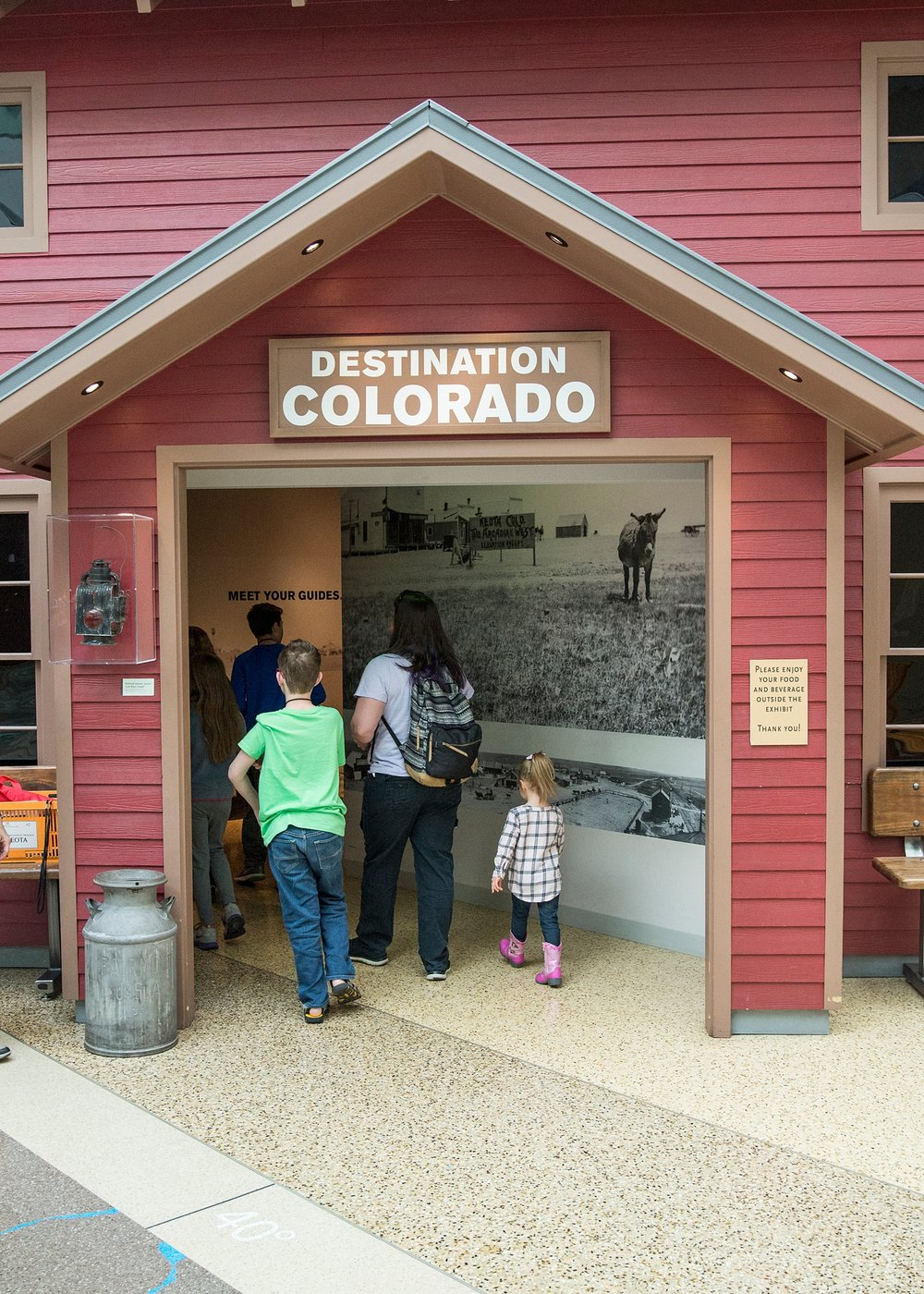 We unschooled our way around the History Colorado Center last week and even took a time traveler tour. It was awesome!