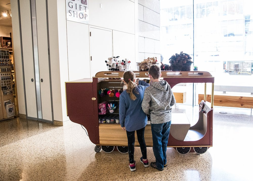 The gift shop is always popular ;) | Week in the Life of an Unschooler | Unschooling Curriculum